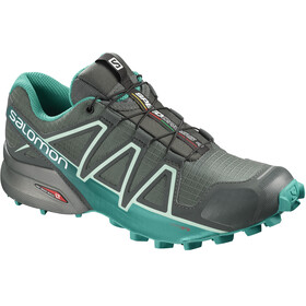 Salomon Speedcross 4 GTX Shoes Women Balsam Green/Tropical Green/Beach Glass
